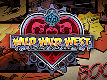 Wild Wild West: The Great Train Heist аппарат от Netent на сайте с бонусом
